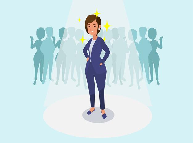successful-business-woman-congratulating-business-colleagues-illustration_1150-35825